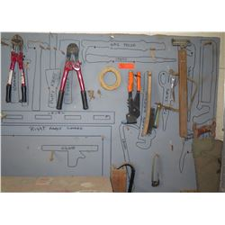 Misc Hand Tools: Bolt Cutter, Wire Brush, Crowbar, etc