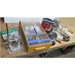 Misc Router Bit Bearing Kit, P&R Bits, Roman Ogee Bits, Callets, etc