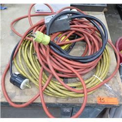 Multiple Heavy Duty Extension Cords