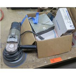 Porter Cable HD Variable Speed Random Orbit Sander 7336 & Discs