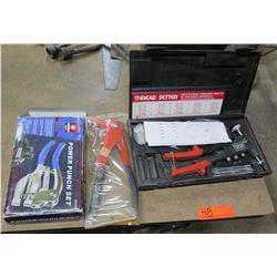 Napa Thread Setter Kit in Box, Power Punch Set, etc