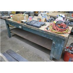 "Shop Table w/ Undershelf 76""x40""x34"" (table only)"