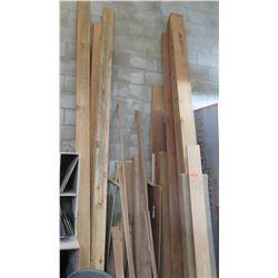 Multiple Size Lumber: 2x4's, 1x4's, Framing, etc 147  Longest Length