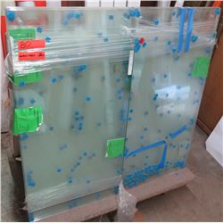 Multiple Glass Sheets 36  x 18  (Cart not included)
