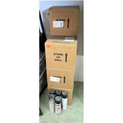 Qty 8 Boxes & 5 Loose Black Super Strip Power Paint Cartridges