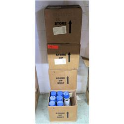 Qty 5 Boxes & 7 Loose Blue Super Strip Power Paint Cartridges