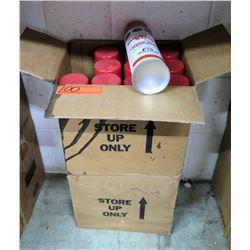 Qty 1 Boxes & 11 Loose Red Super Strip Power Paint Cartridges