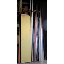 Misc Lumber & Metal Framing Pieces