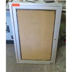 "Silver Framed Display Letter Boards 24""x36"""