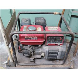 Honda EG2500 Portable Generator w/ Electronic Ignition (cart not included)