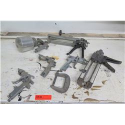 Paint Spray Can, Finex Nozzles, Rollers, Clamp, etc