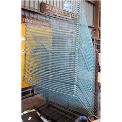 Commercial Metal Wire Sign Drying & Storage Rack (available for pick-up March 13)