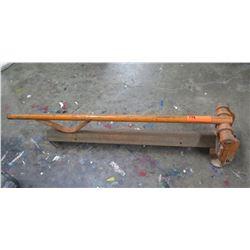 Angled Steel or Aluminum Shear