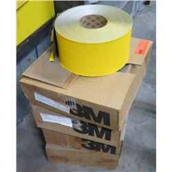 Qty 4 Boxes 3M Yellow Tape H3 Inter 59323-MK
