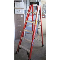 Werner Craft-Master Commercial 6' Step Ladder Model NXT1A06