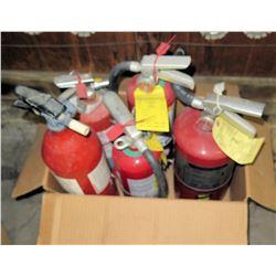 Qty 5 Fire Extinguishers
