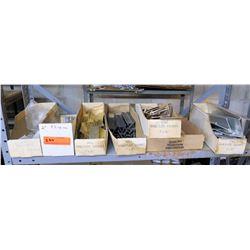 Shelf Misc Hangers, Angles, Wall Name Plate Holders, etc