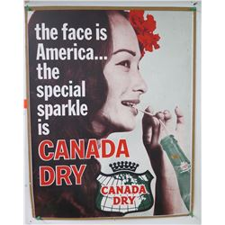 """Vintage Sign: Canada Dry Special Sparkle 21""""x27"""""""