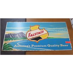 "Vintage Sign: Falstaff America's Premium Quality Beer 44""x21"""