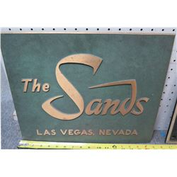 "Sign: The Sands Las Vegas Nevada 16""Length"