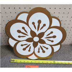 """Flower Cut-Out 15"""" Diameter"""