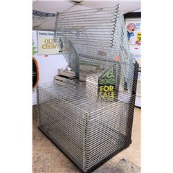 Commercial Metal Wire Sign Drying & Storage Rack