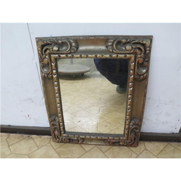"Vintage Mirror 19""x16"""