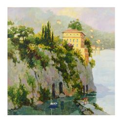 """Marilyn Simandle, """"Amalfi"""" Limited Edition on Canvas, Numbered and Hand Signed with Letter of Authen"""