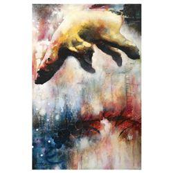 "John Milan, ""Drifter"" Hand Signed Original Painting with COA."