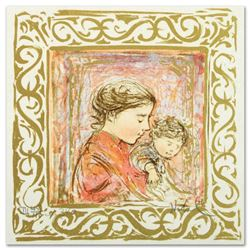 """""""Amanda"""" Limited Edition Lithograph by Edna Hibel (1917-2014), Numbered and Hand Signed with Certifi"""