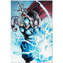 """Marvel Comics """"Marvel Adventures Super Heroes #19"""" Numbered Limited Edition Giclee on Canvas by Step"""