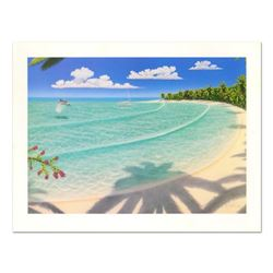 """Dan Mackin, """"On Holiday"""" Limited Edition Lithograph, Numbered and Hand Signed with Letter of Authent"""