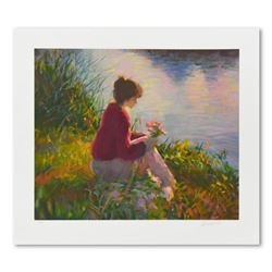 """Don Hatfield, """"Silent Reflections"""" Limited Edition Serigraph, Numbered 26/350 and Hand Signed with L"""