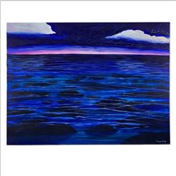 """Wyland, """"Hawaii Reef"""" Hand Signed Original Painting on Canvas with Letter of Authenticity."""