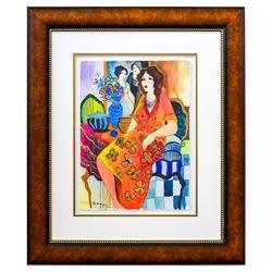 "Patricia Govezensky- Original Watercolor ""Margaux"""