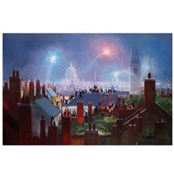 """Peter Ellenshaw (1913-2007), """"Sweeps Dance"""" Limited Edition Giclee on Canvas (36"""" x 24""""), Licensed b"""