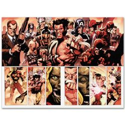 """Marvel Comics """"Secret Invasion #8"""" Numbered Limited Edition Giclee on Canvas by Leinil Francis Yu wi"""
