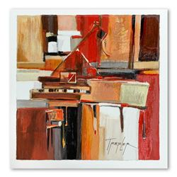 "Yuri Tremler, ""Piano"" Limited Edition Serigraph, Hand Signed with Letter of Authenticity."