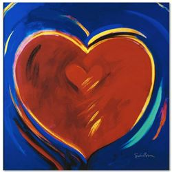"""To Hold You In My Heart"" Limited Edition Giclee on Canvas by Simon Bull, Numbered and Signed. This"