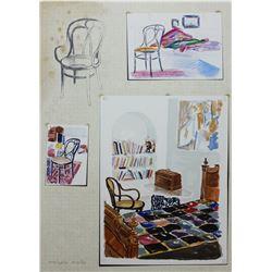 Arie Azene- Lithograph