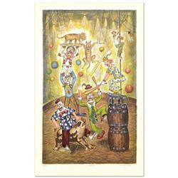 """George Crionas (1925-2004), """"Act II"""" Limited Edition Lithograph, Numbered and Hand Hand Signed with"""