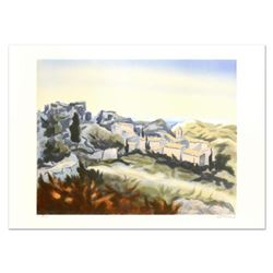 """Victor Zarou, """"Les Baux"""" Limited Edition Lithograph, Numbered and Hand Signed!"""
