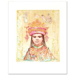 """Oriental Daydream"" Limited Edition Lithograph by Edna Hibel (1917-2014), Numbered and Hand Signed w"