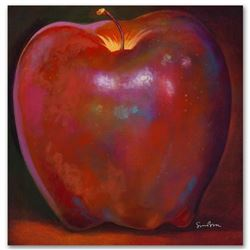 """Apple Wood Reflections"" Limited Edition Giclee on Canvas by Simon Bull, Numbered and Signed. This p"