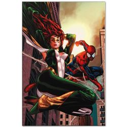 "Marvel Comics ""Amazing Spider-Man Family #6"" Numbered Limited Edition Giclee on Canvas by Paulo Siqu"