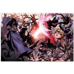 "Marvel Comics ""Avengers: The Children's Crusade #4"" Numbered Limited Edition Giclee on Canvas by Jim"
