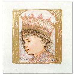"""Celia"" Limited Edition Lithograph by Edna Hibel (1917-2014), Numbered and Hand Signed with Certific"