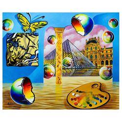 "Alexander Astahov- Original Oil on Canvas ""The Open House"""