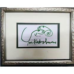 """Menashe Kadishman- Original Sketch """"Untitled"""""""