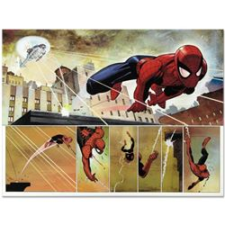 """Marvel Comics """"The Amazing Spider Man #584"""" Numbered Limited Edition Giclee on Canvas by John Romita"""